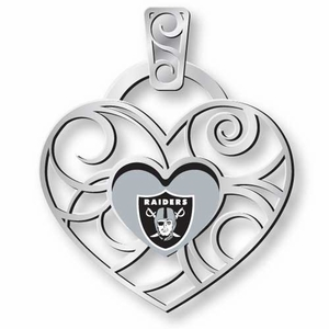 Oakland Raiders Grace Ivy Pendant - Click to enlarge