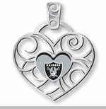 Oakland Raiders Grace Ivy Pendant