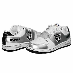 Oakland Raiders Grade School Field Pass Helmet Shoe - Click to enlarge