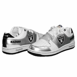 Oakland Raiders Grade School Field Pass Helmet Shoe