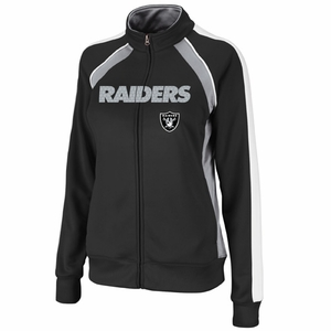 Oakland Raiders Great Play Track Jacket - Click to enlarge