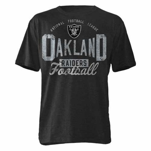 Oakland Raiders Half Time Tee - Click to enlarge