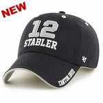 Oakland Raiders Hall of Fame Ken Stabler Name and Number Cap