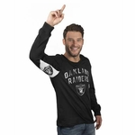 Oakland Raiders Hands High� Long Sleeve Tee