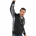 Oakland Raiders Hands High On Deck Full Zip Hoodie