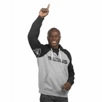 Oakland Raiders Hands High� Pullover Fleece
