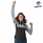 Oakland Raiders Hands High� Women�s Down Field Hood