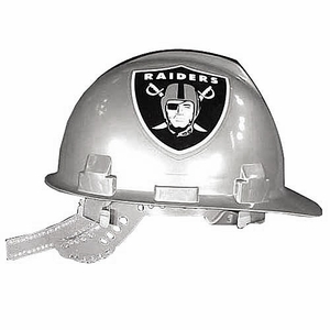 Oakland Raiders Hard Hat - Click to enlarge