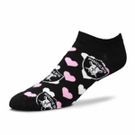Oakland Raiders Heart Logo Socks 9-11