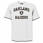 Oakland Raiders Heart & Soul II White