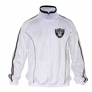 Oakland Raiders Heavy Hitter Track Jacket - Click to enlarge