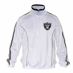 Oakland Raiders Heavy Hitter Track Jacket