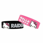Oakland Raiders Hello Kitty Two Pack Bands