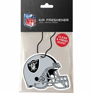 Oakland Raiders Helmet Air Freshener - Click to enlarge