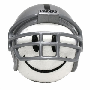 Oakland Raiders Helmet Antenna Topper - Click to enlarge