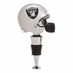 Oakland Raiders Helmet Bottle Stopper