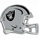 Oakland Raiders Helmet Chrome Emblem