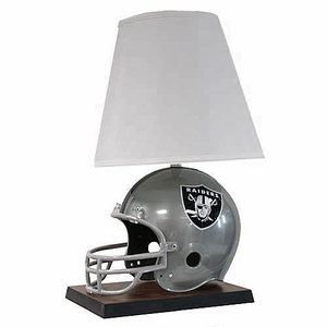 Oakland Raiders Helmet Lamp - Click to enlarge