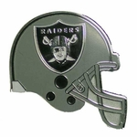Oakland Raiders Helmet Lapel Pin
