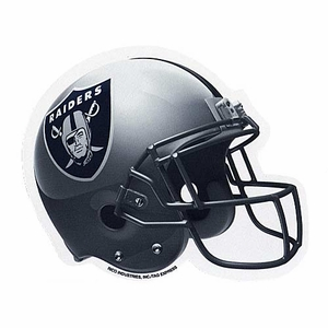 Raiders Helmet Mouse Pad - Click to enlarge