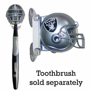 Oakland Raiders Helmet Toothbrush Holder - Click to enlarge
