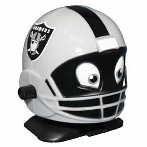 Oakland Raiders Helmet Wind Up Toy - Click to enlarge