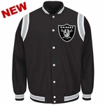 Oakland Raiders High Varsity Jacket