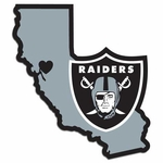 Raiders Home State Decal