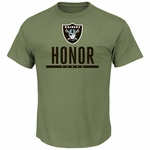 Oakland Raiders Honor Raiders Foundation Tee