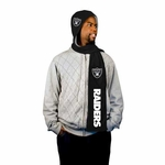 Oakland Raiders Hooded Fleece Scarf