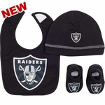 Oakland Raiders Infant Accessory Set