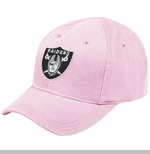 Oakland Raiders Infant Basic Logo Cap Pink