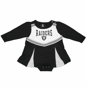 Oakland Raiders Infant Cheer Dress - Click to enlarge