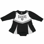 Oakland Raiders Infant Cheer Dress