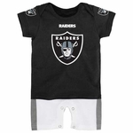 Oakland Raiders Infant Fan Jersey Romper