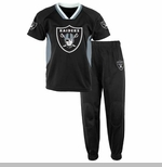 Oakland Raiders Infant Field Goal Jersey Pant Set