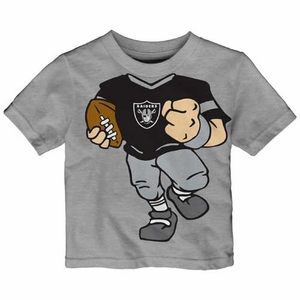 Oakland Raiders Infant Football Dreams Short Sleeve Tee - Click to enlarge