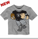 Oakland Raiders Infant Football Dreams Short Sleeve Tee