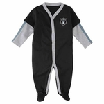 Oakland Raiders Infant Jersey Coverall