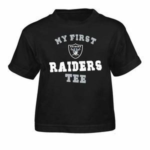 Oakland Raiders Infant My First II Tee - Click to enlarge