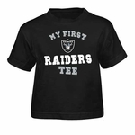 Oakland Raiders Infant My First II Tee