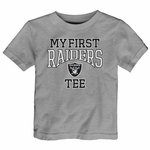 Oakland Raiders Infant My First Steel Tee