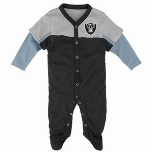 Oakland Raiders Infant Player Coverall - Click to enlarge