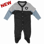 Oakland Raiders Infant Player Coverall