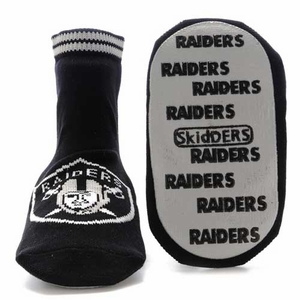 Oakland Raiders Infant Skidder Socks - Click to enlarge