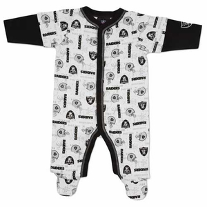 Oakland Raiders Infant Sleep N Play Set - Click to enlarge