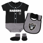 Oakland Raiders Infant Tiny Player Set