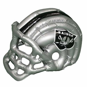 Oakland Raiders Inflatable Helmet - Click to enlarge