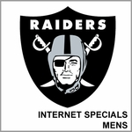 Oakland Raiders Internet Specials Mens Merchandise