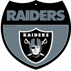 Oakland Raiders Interstate Sign - Click to enlarge